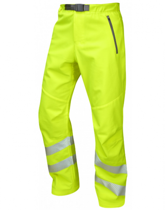 LEO LANDCROSS ISO 20471 Class 1 Stretch Work Trouser Yellow