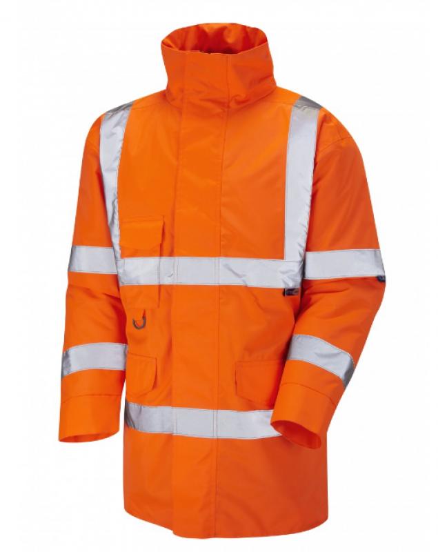 LEO TAWSTOCK ISO 20471 Class 3 Anorak Orange