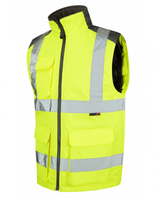LEO TORRINGTON ISO 20471 Class 2 Bodywarmer Yellow