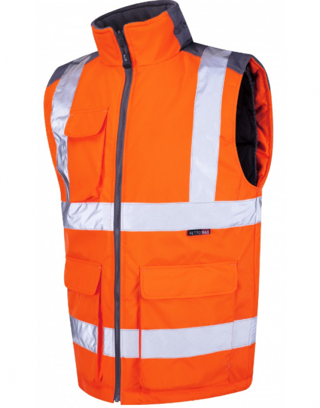 LEO TORRINGTON ISO 20471 Class 2 Bodywarmer Orange