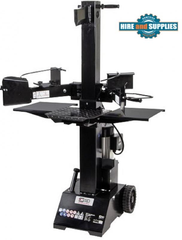 SIP 7 Ton Vertical Electric Log Splitter 01978