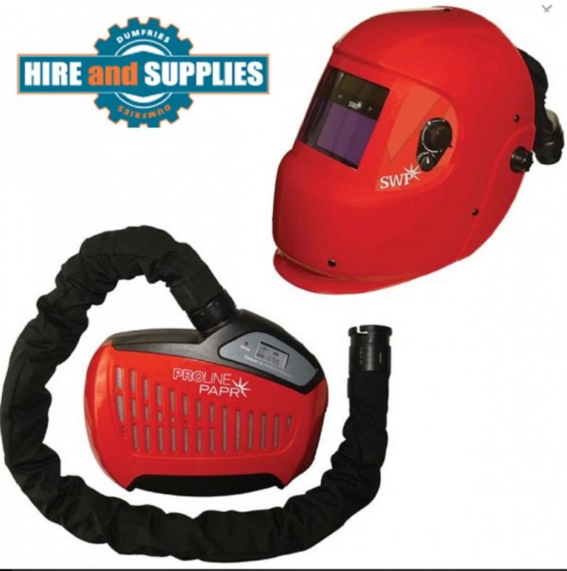 SWP 3044 WELDING HELMET & PAPR COMBINATION, Air fed Welding Mask