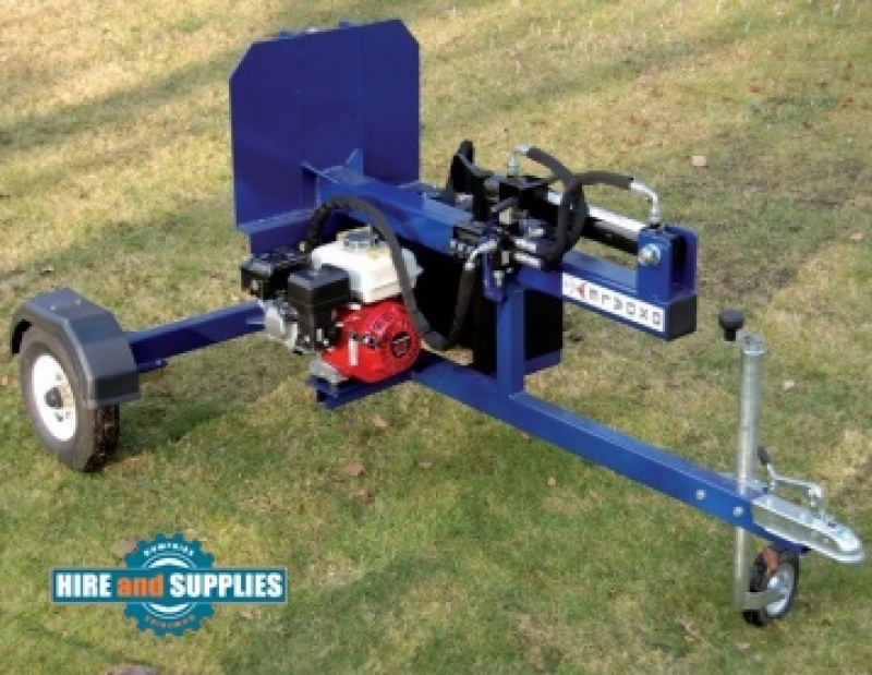 Oxdale Petrol Log splitter Towable RT400