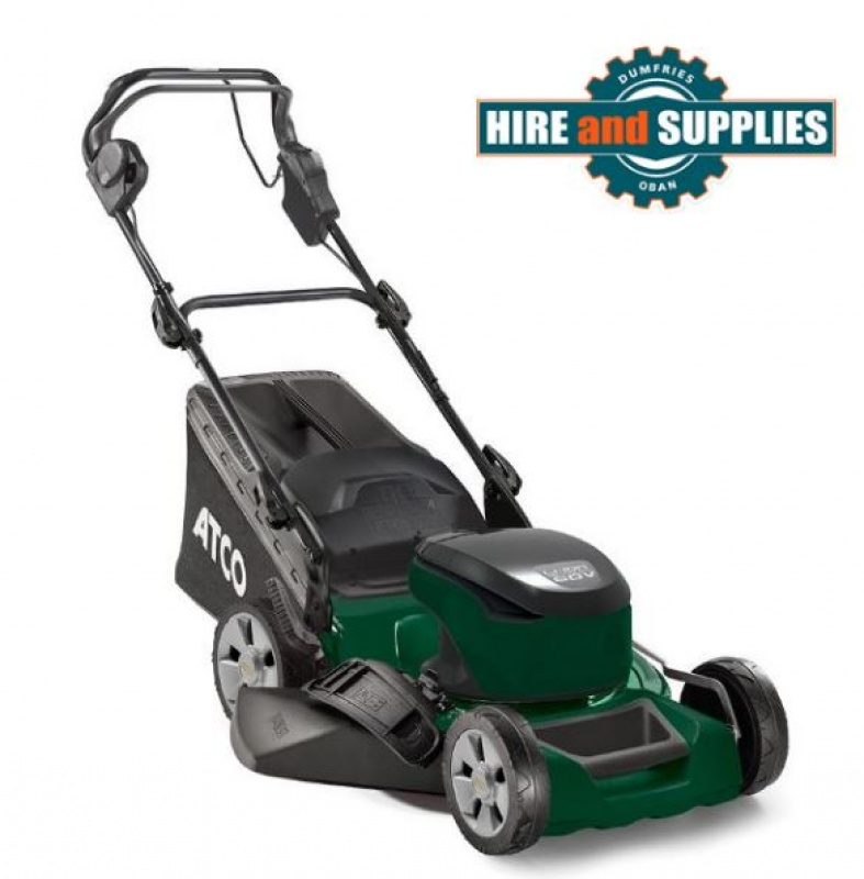 ATCO QUATTRO 16S LI 41CM 60V SELF PROPELLED LAWNMOWER