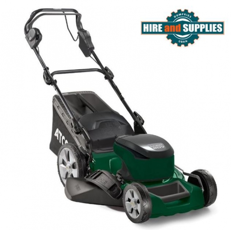 ATCO QUATTRO 18S LI 46CM 60V SELF PROPELLED LAWNMOWER