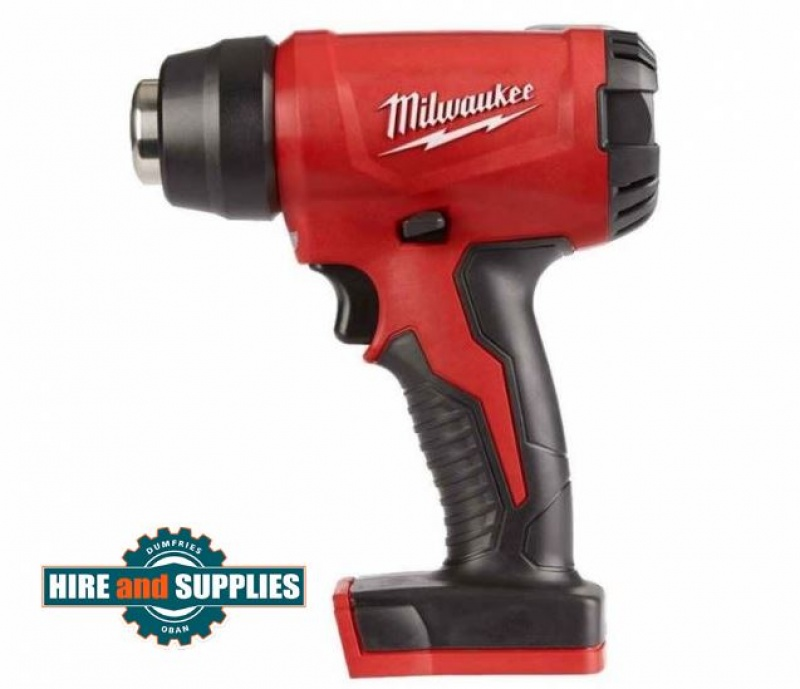 Milwaukee M18BHG-0 18v Compact Heat Gun Bare Unit