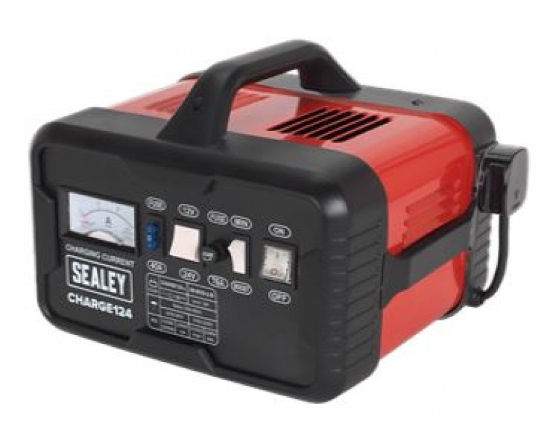 Sealey CHARGE124 Battery Charger 28Amp 12/24V 230V