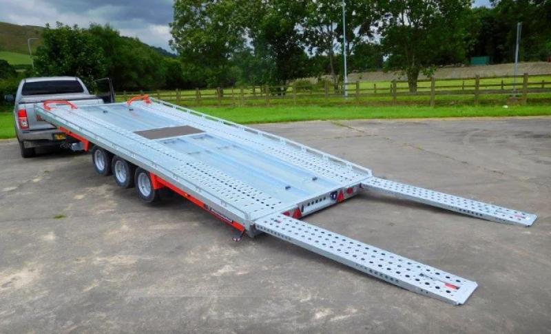 14' X 7' CAR TRANSPORTER TRAILER (2700KG)