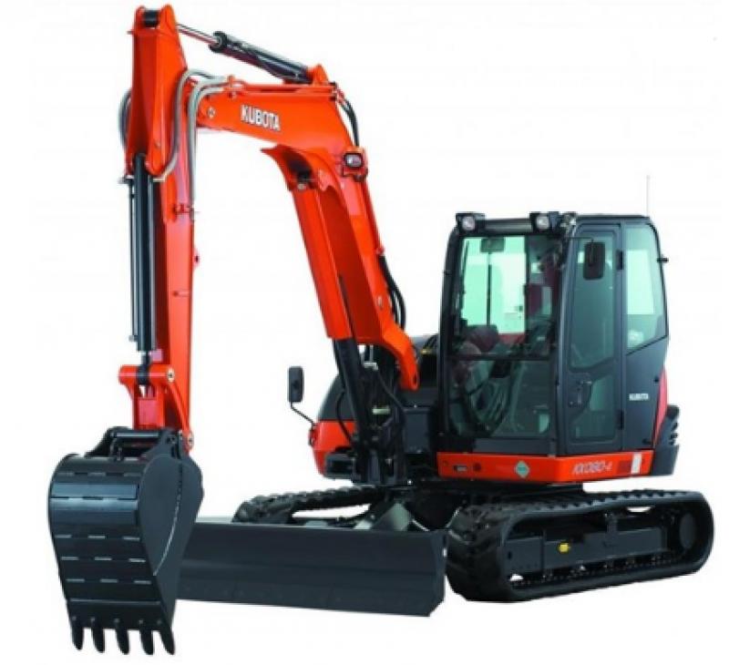 Kubota KX080-4 8ton Excavator