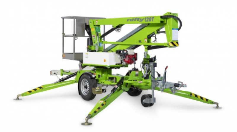 Nifty 120T | 12.2m Trailer Mount