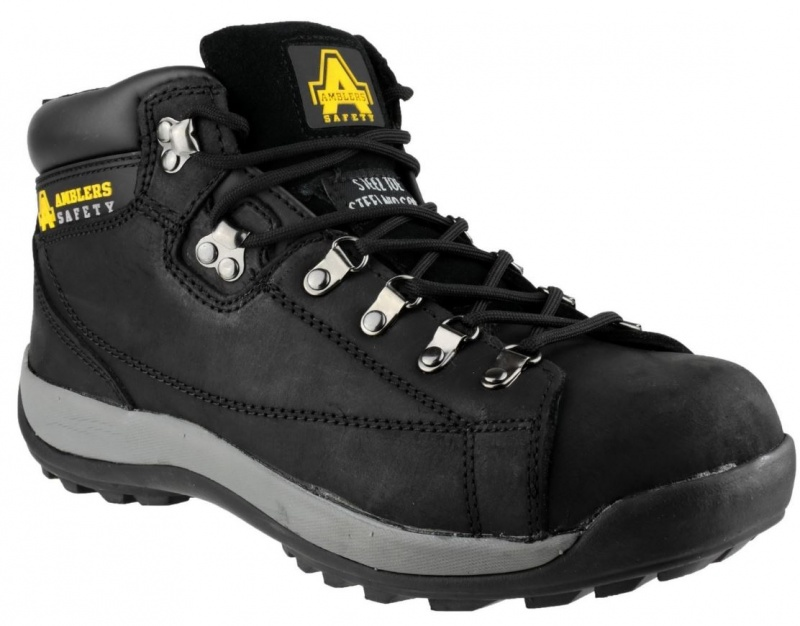 AMBLERS SAFETY  FS123 (BLACK) SAFETY BOOT