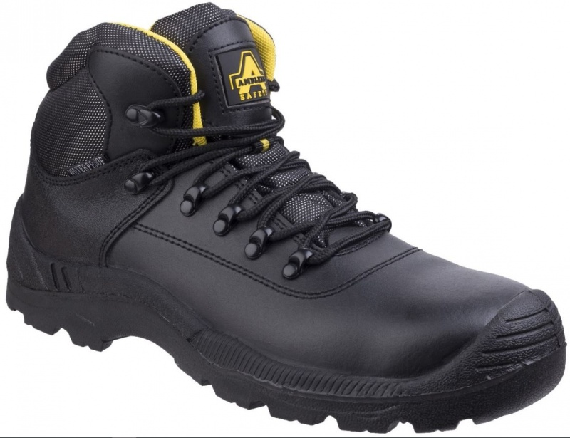 AMBLERS SAFETY  FS220 BLACK S3 WP SAFETY BOOT