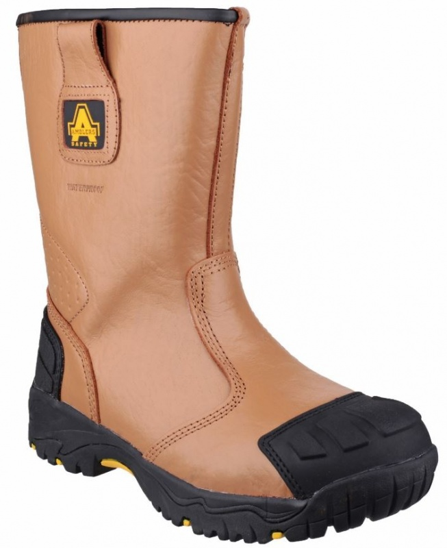 AMBLERS SAFETY  FS143 S3 WP RIGGER BOOT