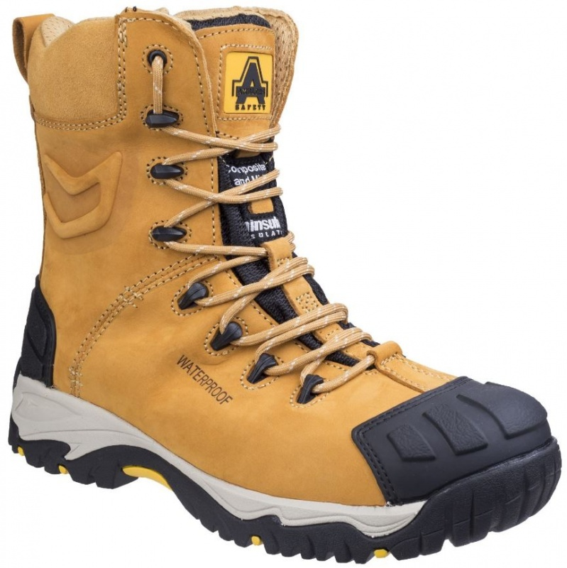AMBLERS SAFETY  FS998C S3 WP METAL ZIP SAFETY BOOT