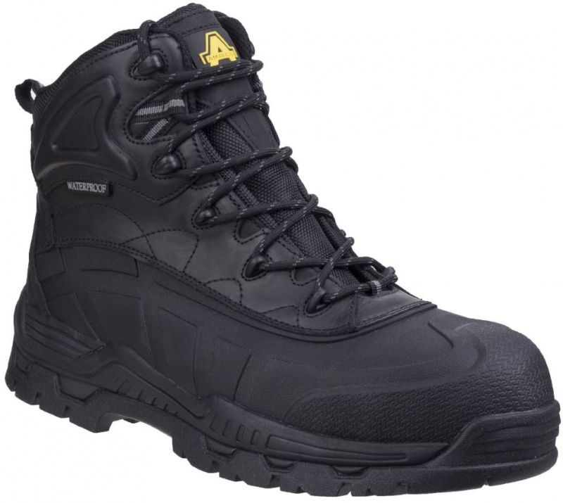 AMBLERS SAFETY  FS430 ORCA HYBRID WP NON-METAL SAFETY BOOT