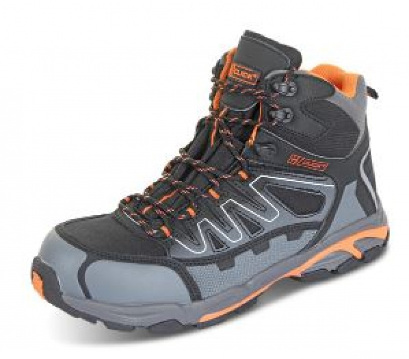 CLICK HIKER S3 COMPOSITE BLK/OR/GY CF35