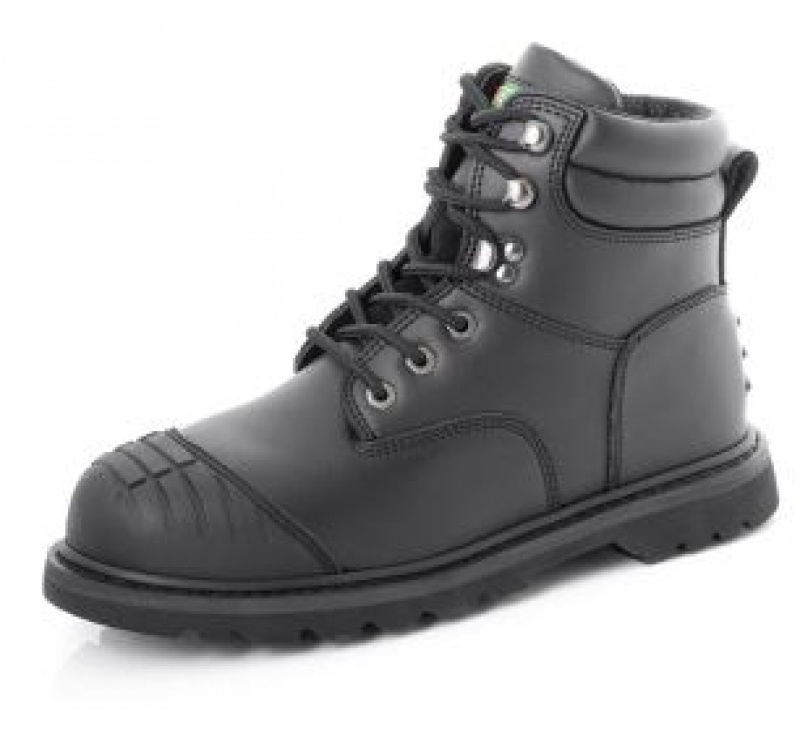 CLICK G/YEAR WELT BOOT MS S/C BL SAFETY GWBMSSCB