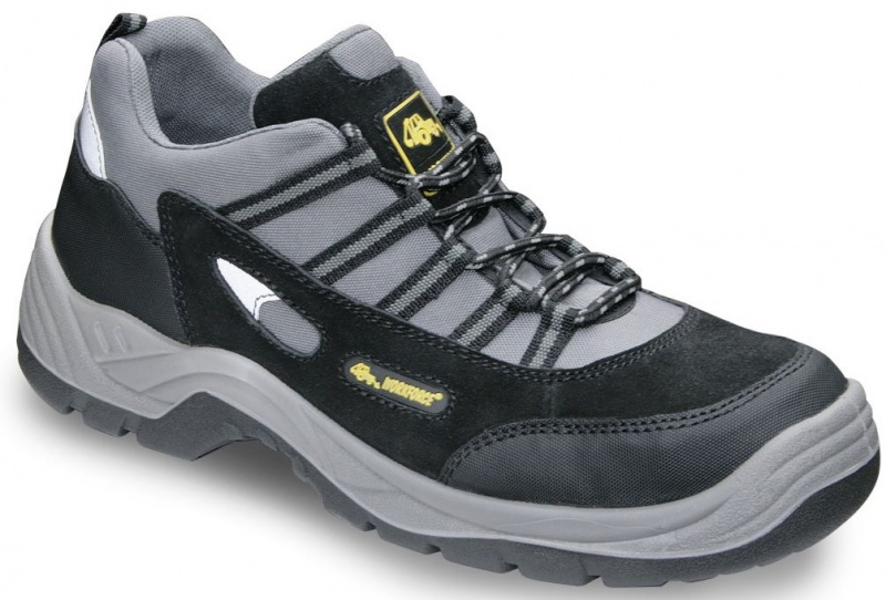 WORKFORCE SBP BLACK SUEDE SAFETY TRAINER WF80-P