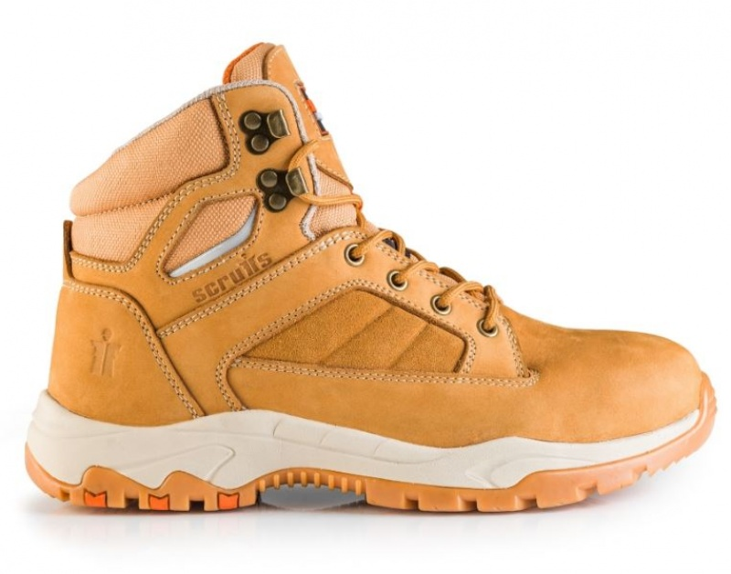 SCRUFFS OXIDE SAFETY BOOTS (TAN)