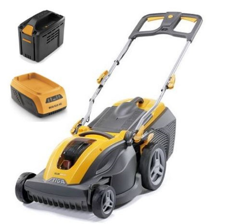 STIGA SLM 540 AE Battery Lawnmower with 4AH Battery And Charger