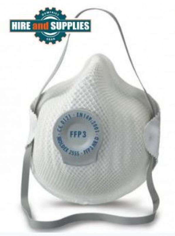 Moldex 2555 FFP3 Dust Masks For Fine Toxic Dusts x 20