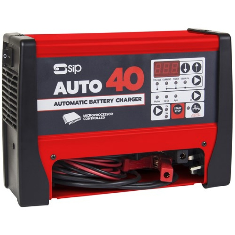 SIP Chargestar Auto 40 Battery Charger 03974