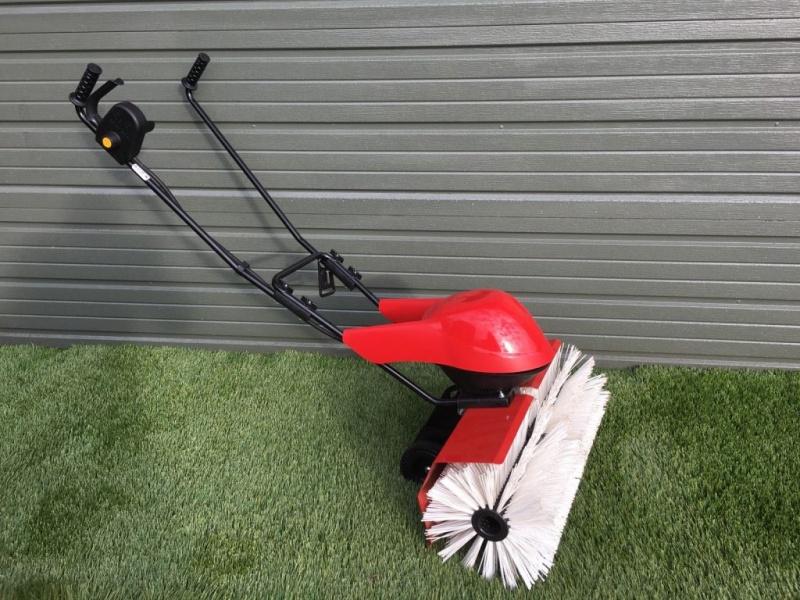 Power Brush Lawn Sweeper 240V