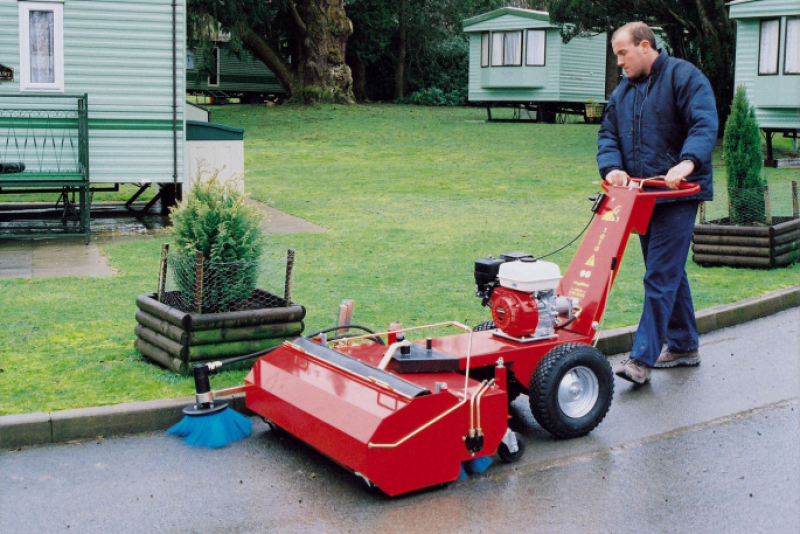 Power Brush 1010 Industrial Outdoor Sweeper