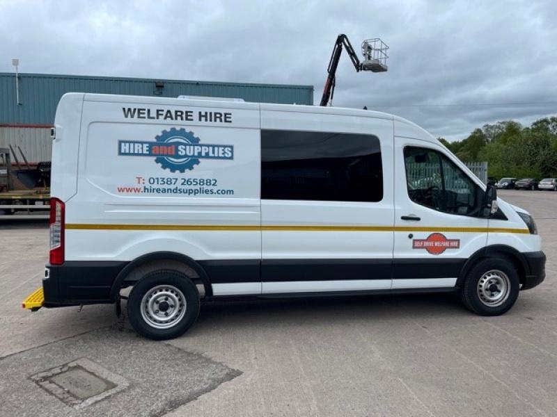 Transit Welfare Unit Vans
