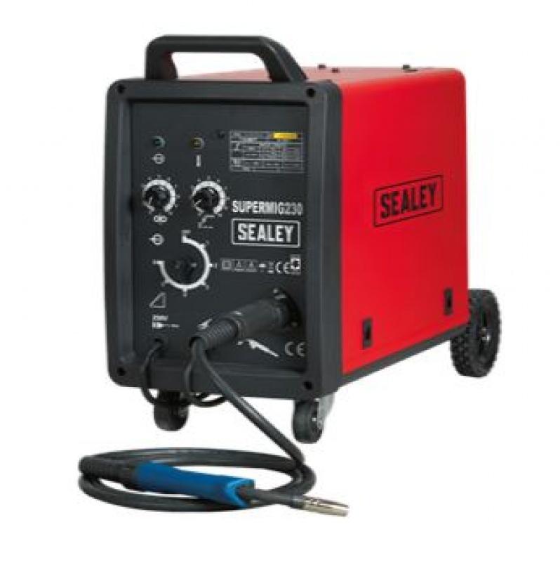 Sealey SUPERMIG230 230V MIG Welder 230Amp with Binzel Euro Torch