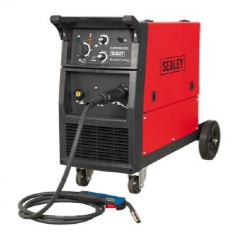 Sealey SUPERMIG255 Professional MIG Welder 250Amp 230V with Binzel Euro Torch.