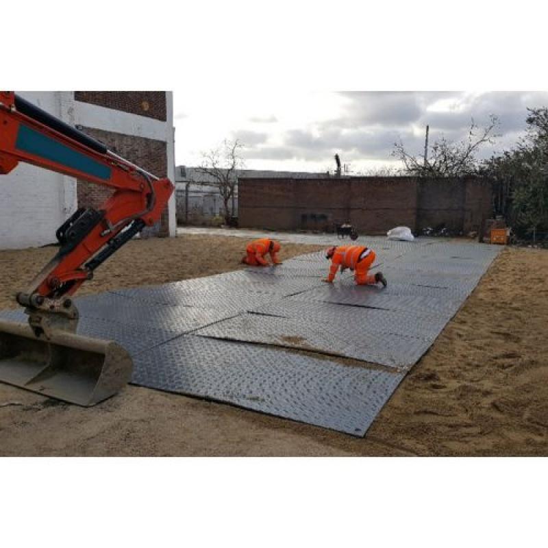 Medium Duty Ground Protection & Vehicle Access Mats