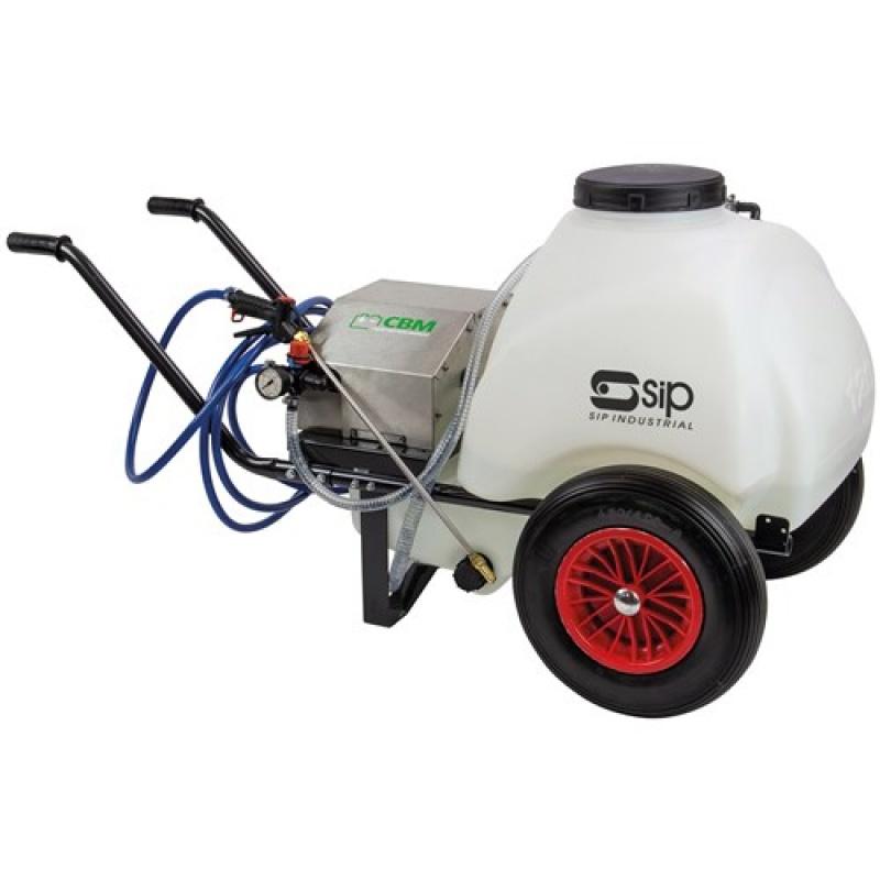 SIP 08999 120ltr Mobile Wheelbarrow Tank Sprayer