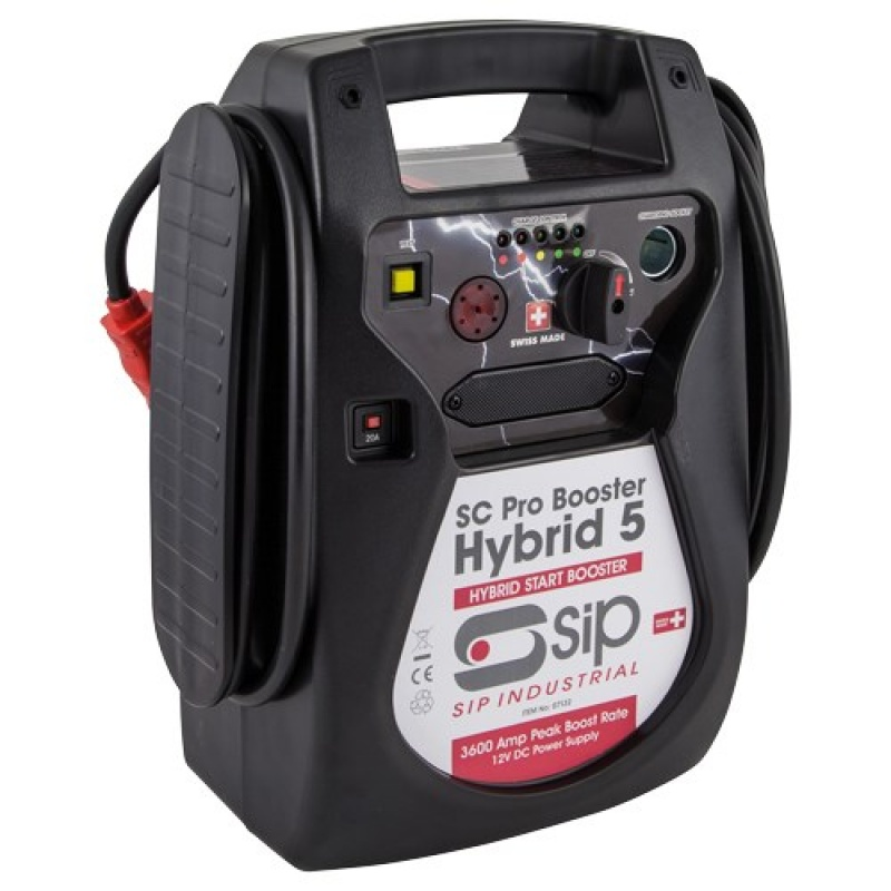 SIP 07132 12v Hybrid 5 SC Professional Booster