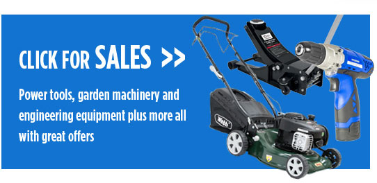 Power tools, garden mahinery and engineering equipment plus more all with great offers