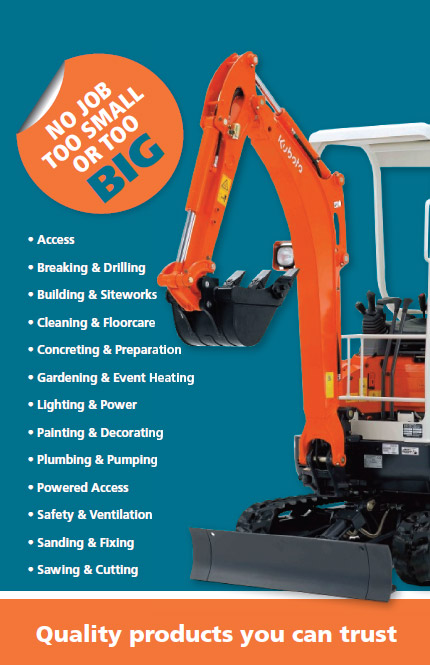 Tool and Plant Hire - Hire and Supplies